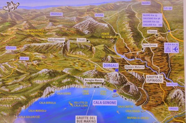 Cala-Gonone-map