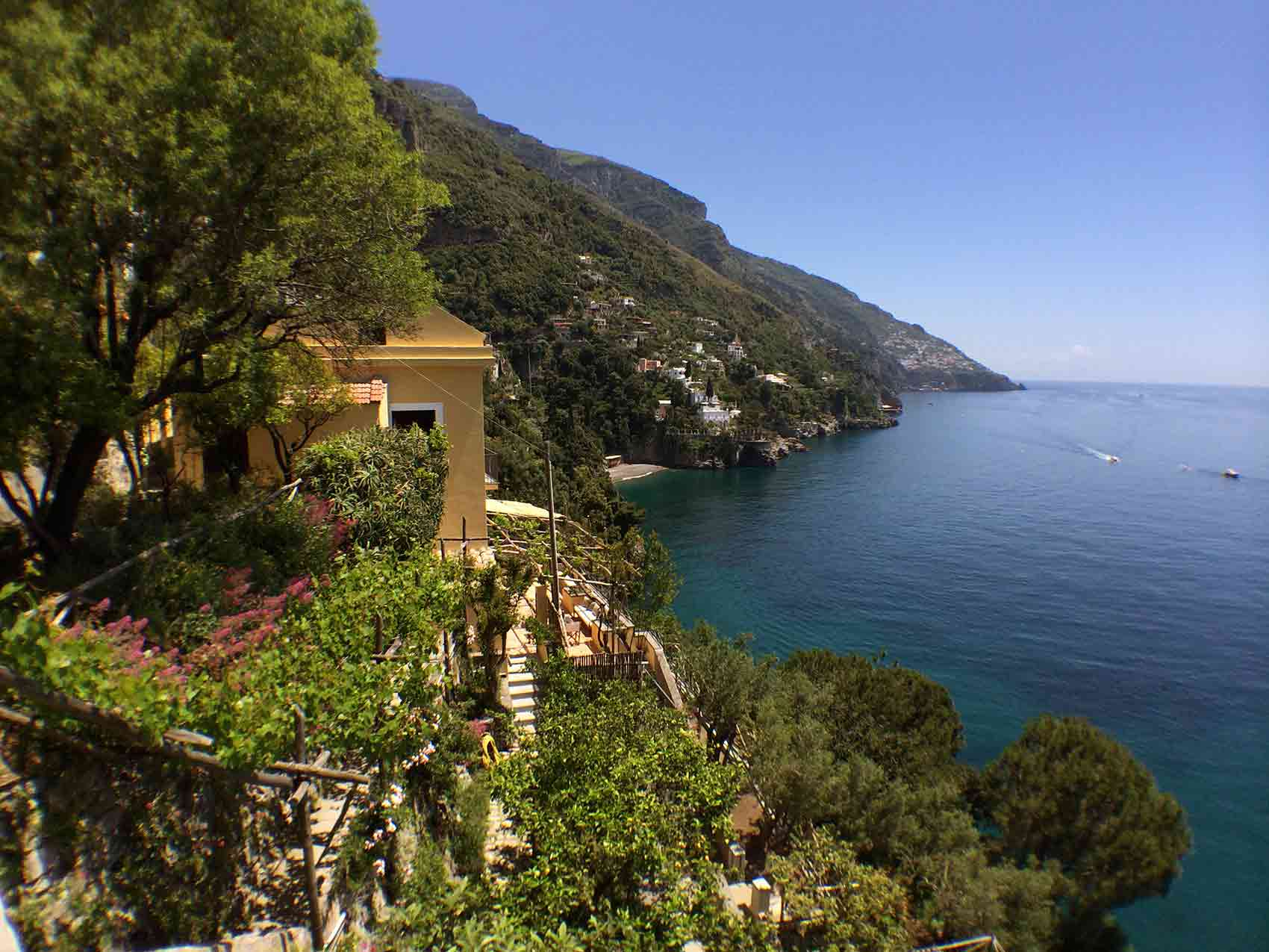 Casa juliana positano villa private villas of italy for Casa positano