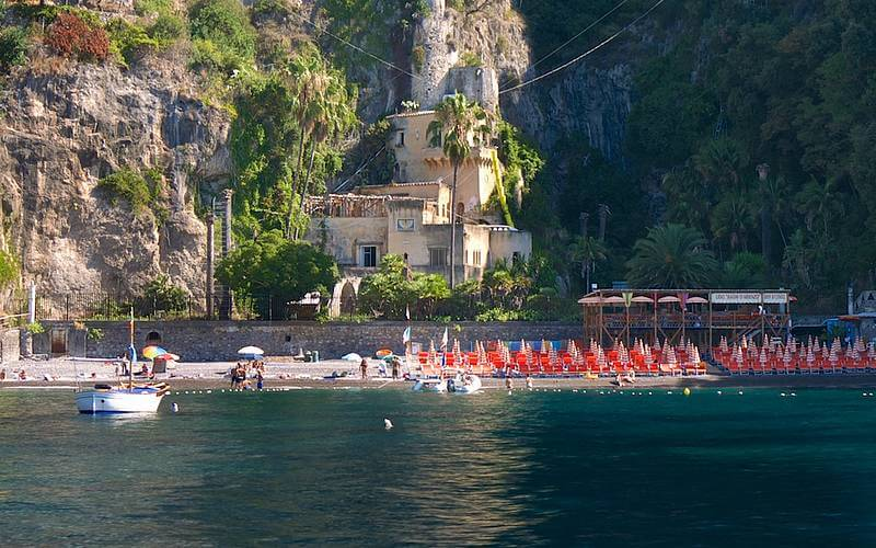Arienzo beach Positano Italy